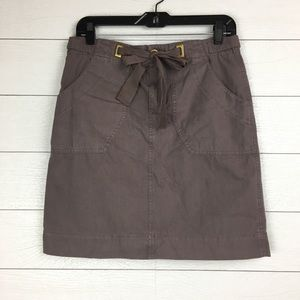 Daughters of the Liberation Taupe Forthright Skirt